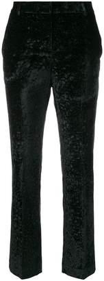 L'Autre Chose velvet cropped trousers