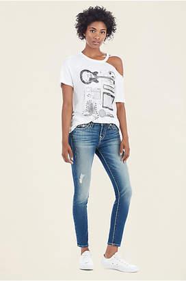 True Religion Halle Super Skinny Super T Womens Jean