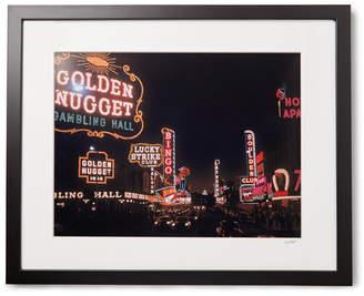 Sonic Editions Framed 1955 Las Vegas Print, 16 X 20
