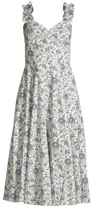 Rebecca Taylor Provencal Floral Cotton Dress