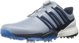 new product 1a3c1 2c967 adidas Powerband BOA Boost Golf Shoes,Grey,8.5 M US