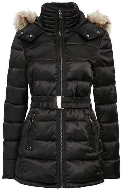 Black Short Padded Coat