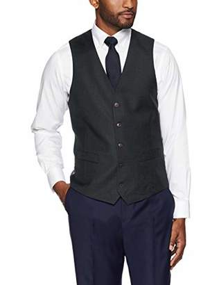 Buttoned Down Men's Tailored Fit Super 110 Italian Wool Suit Vest