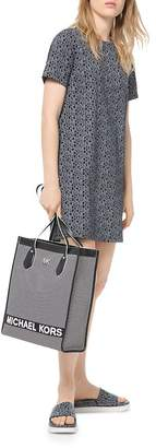 MICHAEL Michael Kors Logo-Print Graphic Tee Dress