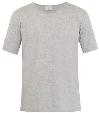 THE WHITE BRIEFS Oak Cotton Jersey T Shirt - Mens - Grey