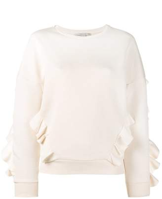Stella McCartney ruffle trimmed sweatshirt