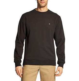 Izod Men's Advantage Performance Long Sleeve Solid Fleece Soft Crewneck Pullover