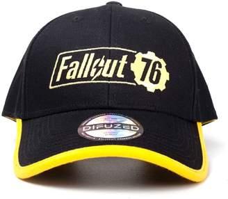 Fallout Vault 76 Baseball Cap Yellow Logo New Official Snapback b1ac37f1a34a