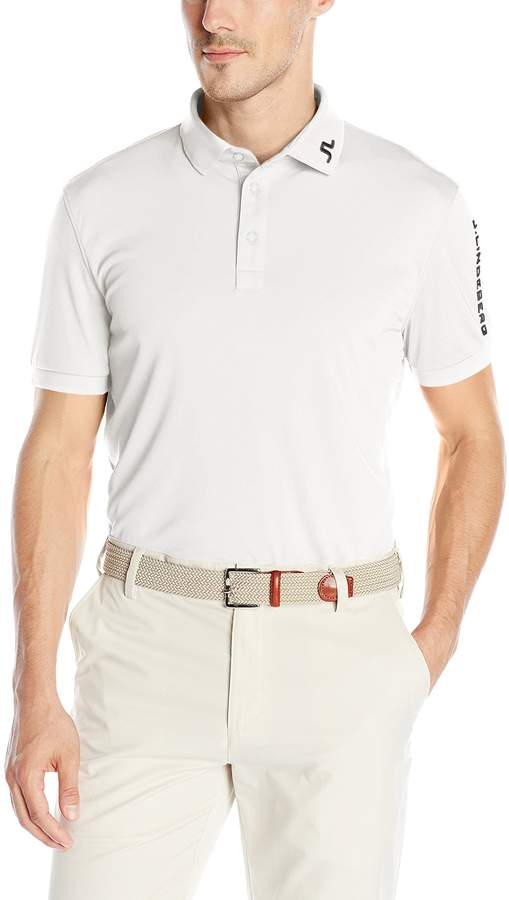 J. Lindeberg Men's M Tour Tech TX Jersey Polo Shirt
