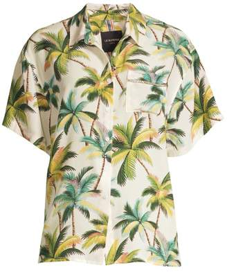 Le Superbe Club Tropicana Embellished Print Shirt