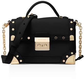 MICHAEL Michael Kors Cori Small Leather Trunk Bag