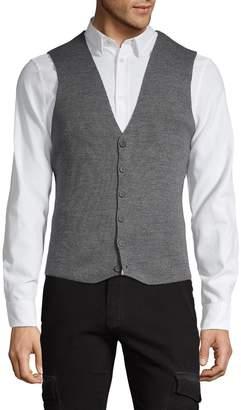 Ron Tomson Classic Wool Blend Vest