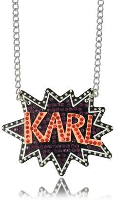 Karl Lagerfeld K/Pop Glitter Necklace