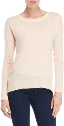 Zadig & Voltaire Cici Cashmere Star Elbow Sweater