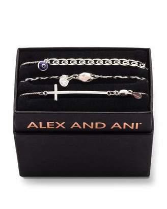 Alex and Ani Tall Cross Bracelet Gift Set