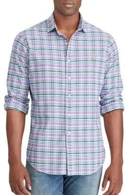 Polo Ralph Lauren Gingham Cotton Casual Button-Down Shirt