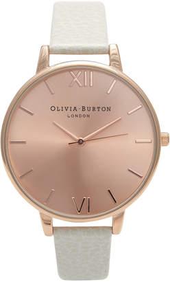 Olivia Burton Big Dial Mink & Rose Gold Watch