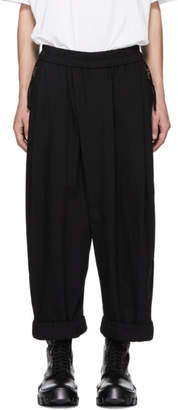 Julius Black Loose Fit Lounge Pants