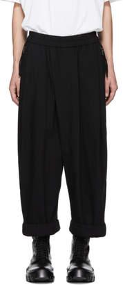 Julius Black Loose Fit Lounge Pants