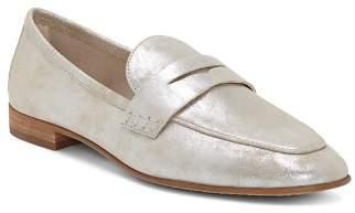 Vince Camuto Women's Macinda Metallic Leather Loafers