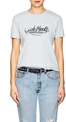 "Ksubi Women's ""Club Med"" Cotton T-Shirt - Green"