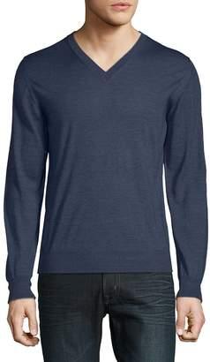 Brioni Men's Casual V-Neck Sweater