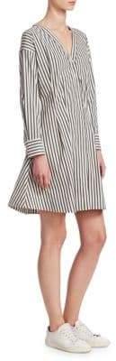 Theory Stripe Shirt Dress