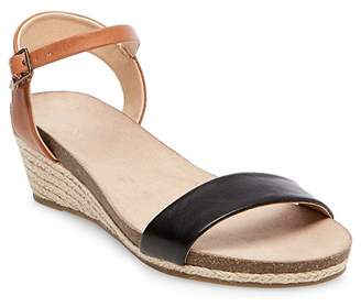 Merona Women's Eve Footbed Wedge Quarter Strap Sandals $24.99 thestylecure.com