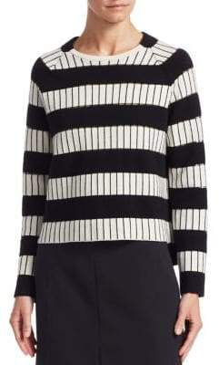 Akris Cashmere Stripe Sweater