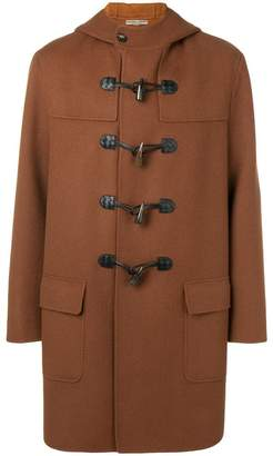 Bottega Veneta cashmere double breasted duffle coat