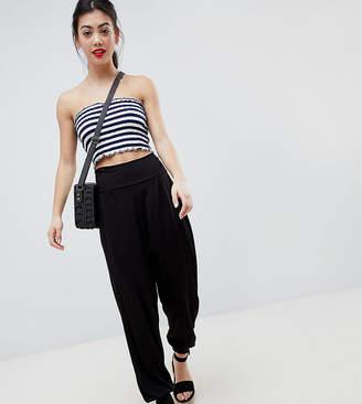 d4554ec0d965 Asos DESIGN Petite ultimate jersey harem trousers