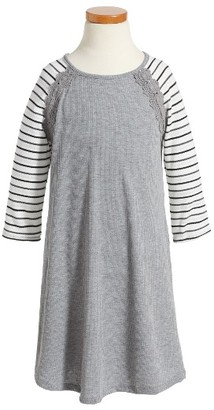 Girl's Fire Baseball T-Shirt Dress $32 thestylecure.com