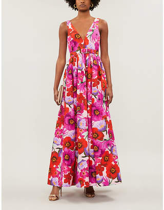 Borgo de Nor Isabella floral-print cotton-blend maxi dress