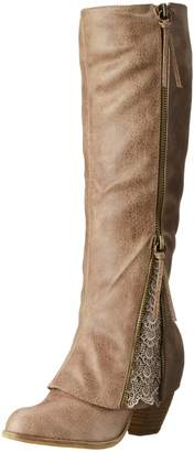 Not Rated Women's Sassy Classy Riding Boot