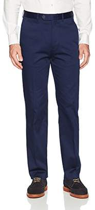 Nautica Men's Solid Cotton Suit Separate Pant