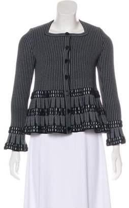 Alaia Flared Evening Jacket