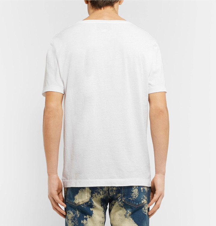 Gucci Slim-Fit Printed Cotton-Jersey T-Shirt 6