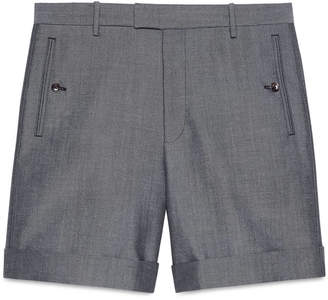 Gucci Panama wool mohair short