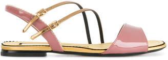 No.21 strappy open toe sandals