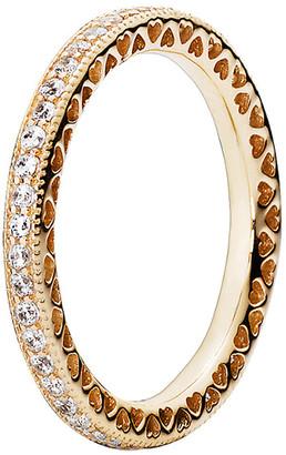 Pandora 14K Cz Ring