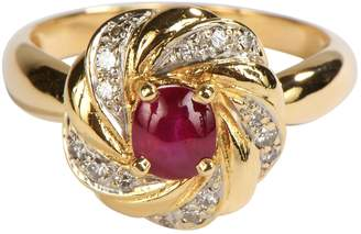 Rubis Non Signé / Unsigned Non Signe / Unsigned Gold Yellow gold Rings