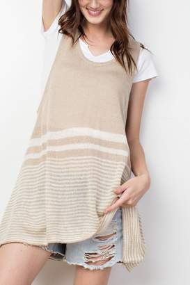 Easel Knitted Tank Top