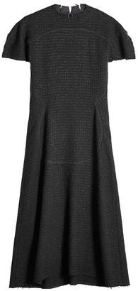 Maison Margiela Tweed Dress with Virgin Wool