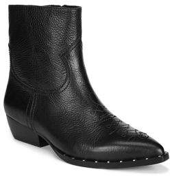 046f50875 Sam Edelman Black Stacked Heel Boots For Women - ShopStyle Canada
