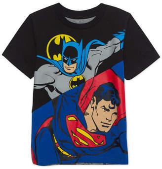 Marvel Dc Comics Toddler Boys Heroes Unit Graphic T-Shirt