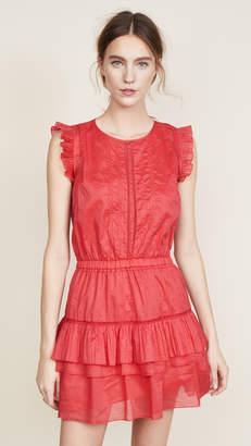 DAY Birger et Mikkelsen Scotch & Soda/Maison Scotch Sleeveless Dress with Pleated Ruffle