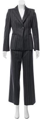 Emporio Armani Tailored Pinstripe Pantsuit
