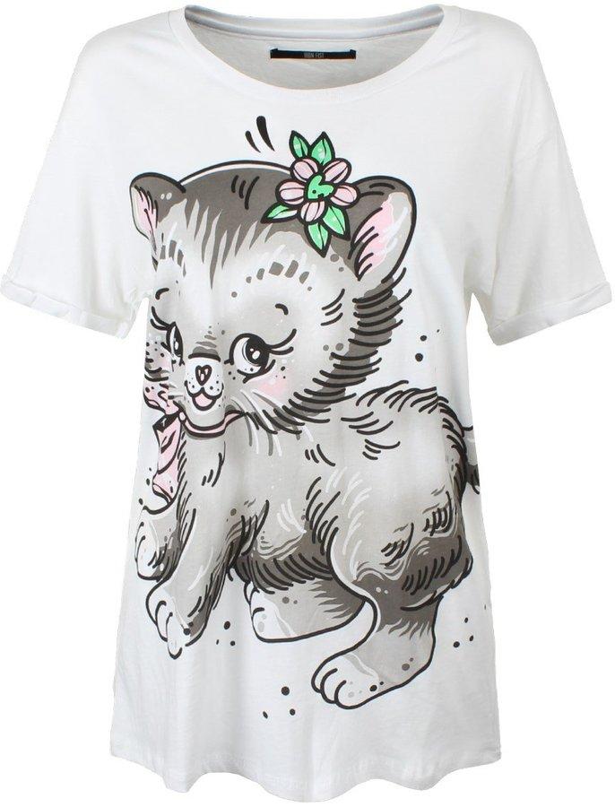 Iron Fist Women's Pussy Cat Boyfriend Tee T-shirt