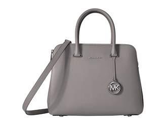 6954a6d3d1ba MICHAEL Michael Kors Gray Double Handle Handbags - ShopStyle