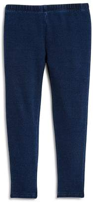 Splendid Girls' Indigo Knit Leggings - Baby